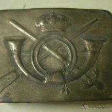 Militaria: HEBILLA DE INFANTERÍA, TROPA. ALFONSO XIII. Lote 39324491
