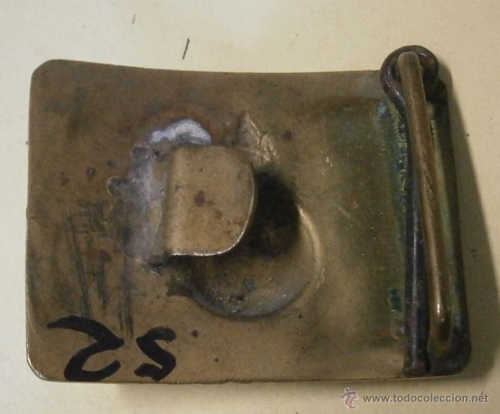 Militaria: Hebilla de artillería, variante, república. - Foto 2 - 39384762