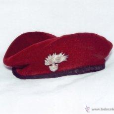 Militaria: ITALIA: BOINA DE PARACAIDISTA DE LOS CARABINIERI.. Lote 39444628