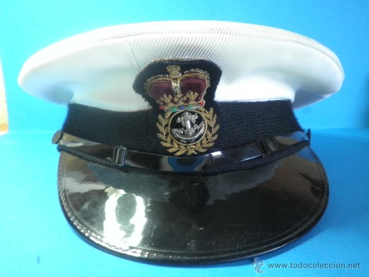 GORRA MILITAR DE LA MARINA WESTON CAP LTD. (Militar - Boinas y Gorras )