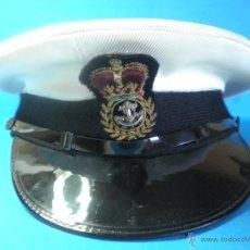 Militaria: GORRA MILITAR DE LA MARINA WESTON CAP LTD.. Lote 39974952
