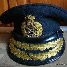 Militaria: GORRA DE GENERAL DE LA INDIA, GRAN CALIDAD. Lote 39542466