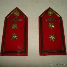 Militaria: ANTIGUAS HOMBRERAS DE TENIENTE CORONEL DEL EJERCITO DEL AIRE . EPOCA DE FRANCO. Lote 39579256