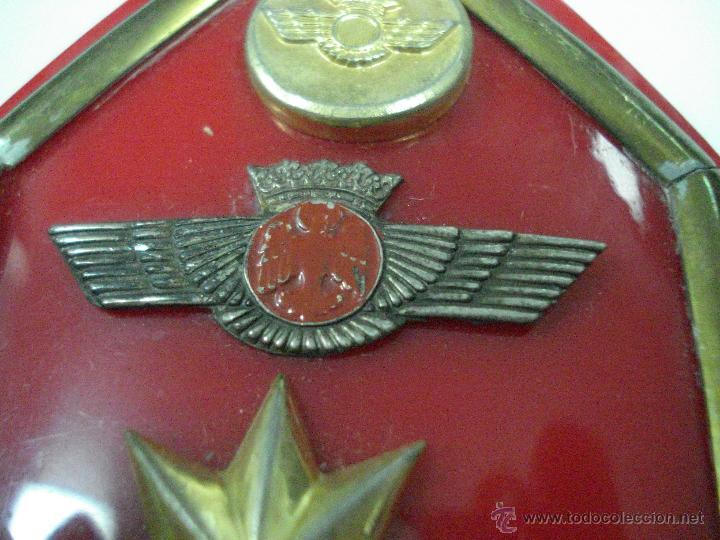Militaria: Antiguas Hombreras de TENIENTE CORONEL del Ejercito del Aire . Epoca de Franco - Foto 4 - 39579256