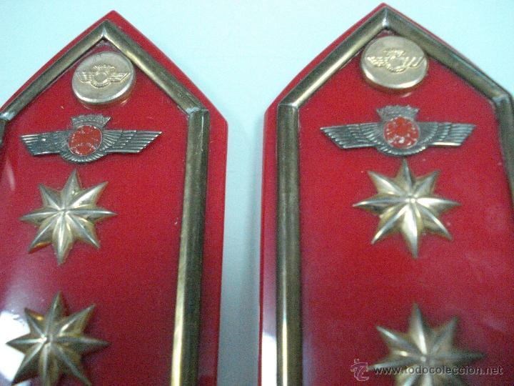 Militaria: Antiguas Hombreras de TENIENTE CORONEL del Ejercito del Aire . Epoca de Franco - Foto 6 - 39579256