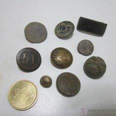 Militaria - Lote 8 botones militares: Artillería, peón caminero, regimiento 103, regimiento 51 etc. - 39639431