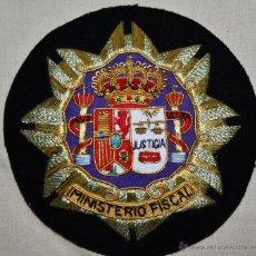 Militaria: GALLETA BORDADA DEL MINISTERIO FISCAL. Lote 39727919