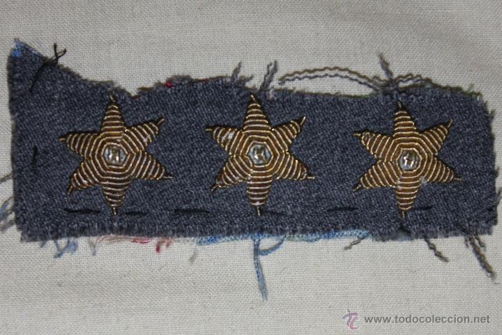 Tres Estrellas De Seis Puntas Bordadas Comprar En Todocoleccion