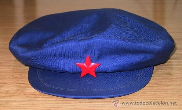 GORRA TIPO MAO - ORIGINAL- REPÚBLICA POPULAR CHINA. AÑO 1984 (Militar - Boinas y Gorras )