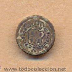 Militaria: MON 884 BOTÓN ESCUDO ESPAÑA REVERSO L SOBRE 15 MM. Lote 39829184