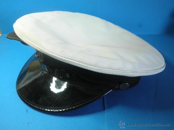 Militaria: GORRA MILITAR DE LA MARINA WESTON CAP LTD. - Foto 2 - 39974952