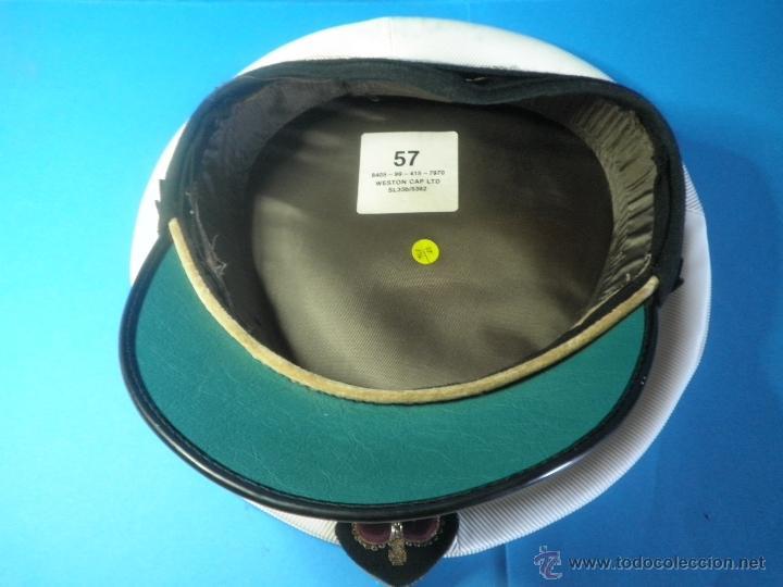 Militaria: GORRA MILITAR DE LA MARINA WESTON CAP LTD. - Foto 3 - 39974952