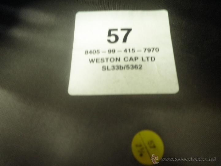Militaria: GORRA MILITAR DE LA MARINA WESTON CAP LTD. - Foto 4 - 39974952