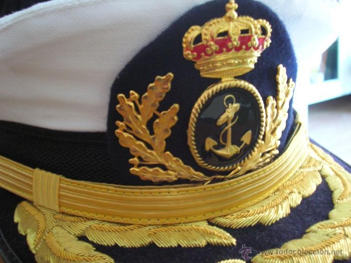 gorra de almirante de la armada española. - Comprar Boinas y gorras . 0df967fbb61