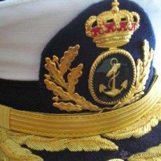 Militaria: GORRA DE ALMIRANTE DE LA ARMADA ESPAÑOLA.. Lote 40160268
