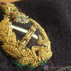Militaria: BOINA DE GENERAL BRITÁNICO. 100 % ORIGINAL. Lote 40161274
