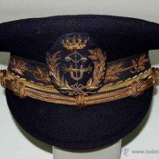 Militaria: ANTIGUA GORRA DE INGENIERO INDUSTRIAL - EPOCA DE FRANCO - MARCA NAVAS - MIDE 56 CMS DE PERIMETRO INT. Lote 38254603