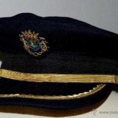 Militaria: ANTIGUA GORRA DE OFICIAL DE BOMBEROS DE MADRID - MIDE 56 CMS. DE PERIMETRO INTERIOR - , . Lote 38270118