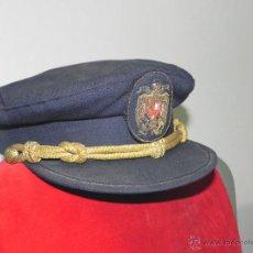 Militaria: ANTIGUA GORRA DE PLATO DE JERARCA DE FALANGE EN DE CONSERVACION, TIENE 54 CMS. DE PERIME. Lote 38281293