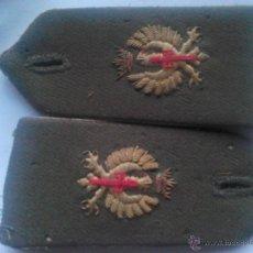 Militaria: PAR DE HOMBRERAS OFICIAL EJÉRCITO ESPAÑOL. ESPAÑA. ANTERIOR A AÑOS ´70. ÉPOCA GENERAL FRANCO. Lote 40381660