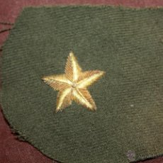 Militaria: ESTRELLA DE MANDO REPUBLICANO EN HILO DE ORO,GRAN CALIDAD EPOCA REPUBLICA. Lote 40382622