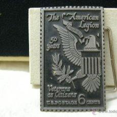 Militaria: HEBILLA DE AMERICAN LEGION. Lote 40418271