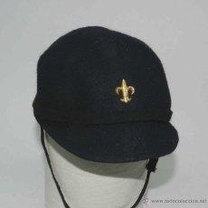 Militaria: ANTIGUA GORRA DE BOY SCOUT - BOYS SCOUTS - PARA NIÑO, YA QUE MIDE DE PERIMETRO INTERIOR 48 CMS.. Lote 40461831