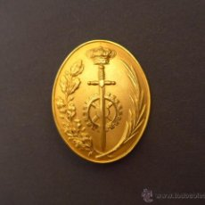 Militaria: ANTIGUA HEBILLA DEL CUERPO DE PRISIONES, ALFONSO XIII. Lote 40477598