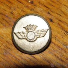 Militaria: BOTÓN EJERCITO - AIRE - GRANDE PLANO -. Lote 40695556