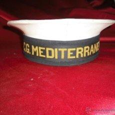 Militaria: GORRA CG MEDITERRANEO 1990 ,(EN SU INTERIOR ESCRITO MORGAN). Lote 40742228