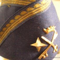 Militaria: GORRO / GORRILLO DE GENERAL DE DIVISION DEL EJERCITO DEL AIRE. EPOCA DE FRANCO.. Lote 40749589