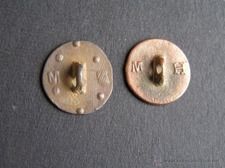 Militaria: BOTONES PATRIÓTICOS. S XVIII- XIX Bronce o cobre.. - Foto 5 - 41022637