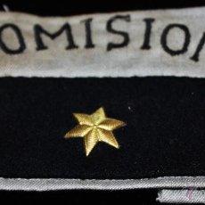Militaria: BRAZALETE HERMANDAD ALFERECES PROVISIONALES COMISIONISTAS INNAGURACION DEL VALLE DE LOS CAIDOS. Lote 41084748