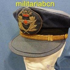 Militaria: ESPAÑA. GORRA DE PLATO. OFICIAL. EJÉRCITO DEL AIRE. ÉPOCA DE FRANCO.. Lote 41279906