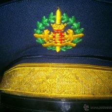 Militaria: ANTIGUA GORRA DE PLATO ESCUDO VALLADOLID.COLOR AZUL MARINO. Lote 41291679