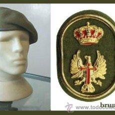 Militaria: BOINA VERDE EJERCITO ESPAÑOL AÑOS 80/90 DEL EJERCITO DE TIERRA TALLA 59 MUY POCO USO. Lote 70439211