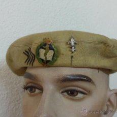 Militaria: ANTIGUA BOINA CARLISTA DE REQUETE MEDICO, TODO ORIGINAL, GUERRA CIVIL. Lote 41452779