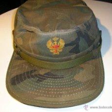 Militaria: GORRA MILITAR DEL EJERCITO ESPAÑOL,MANUFACTURAS VALLE S A ,TALLA M. Lote 41738297