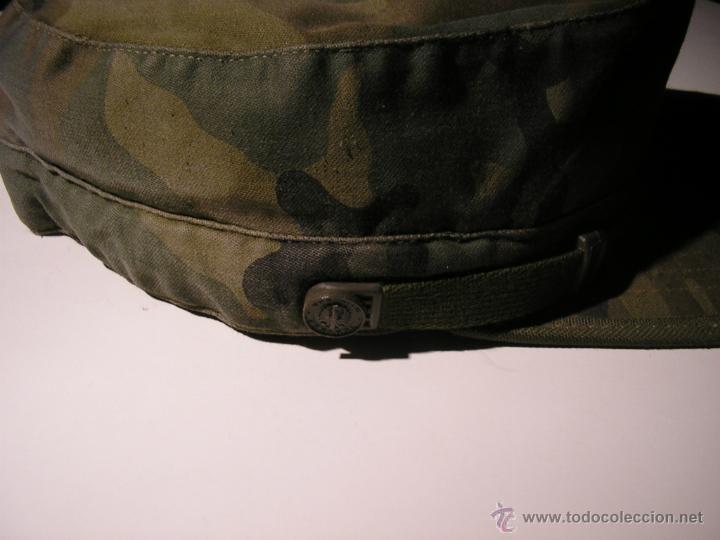 Militaria: GORRA MILITAR DEL EJERCITO ESPAÑOL,MANUFACTURAS VALLE S A ,TALLA M - Foto 2 - 41738297