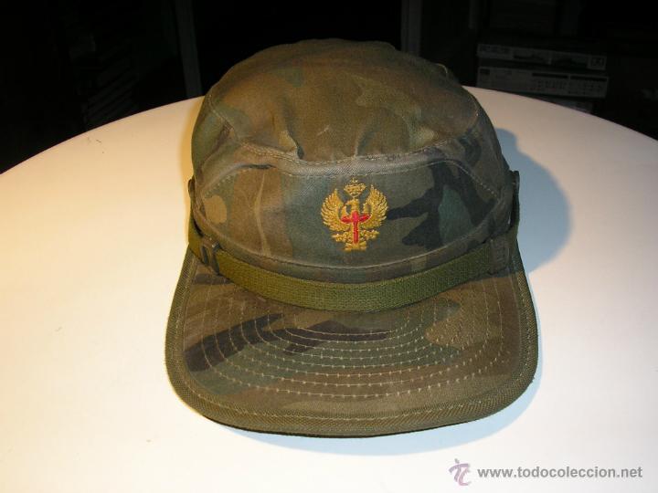 Militaria: GORRA MILITAR DEL EJERCITO ESPAÑOL,MANUFACTURAS VALLE S A ,TALLA M - Foto 8 - 41738297