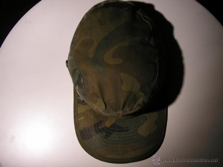 Militaria: GORRA MILITAR DEL EJERCITO ESPAÑOL,MANUFACTURAS VALLE S A ,TALLA M - Foto 13 - 41738297