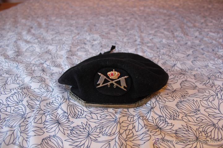 BOINA DE CABALLERIA AÑOS 90,S (Militar - Boinas y Gorras )