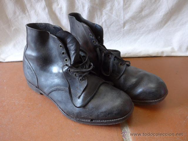 comprar en linea calidad estable detallado Antiguas botas militares inglesas, originales, - Vendido en ...