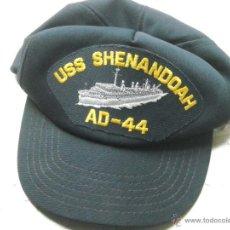 Militaria: GORRA USS SHENANDOAH AD-44. NUEVA SIN USO APARENTE, DE LOS AÑOS 80.. Lote 42444893