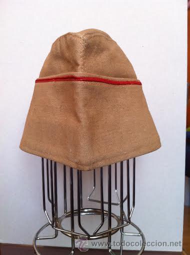 Militaria: Gorro Chester uniforme de faena de Regulares, años 70. - Foto 3 - 42545782