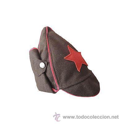 Gorra Budenovka. Ejército Rojo. Rusia. 2ª Guerra Mundial. 1939-1945. Modelo  1917 Revolución Rusa 4d0294f465e