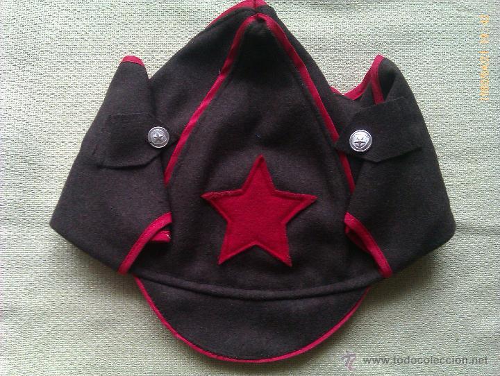 Militaria  Gorra Budenovka. Ejército Rojo. Rusia. 2ª Guerra Mundial. 1939- 60de73561fd