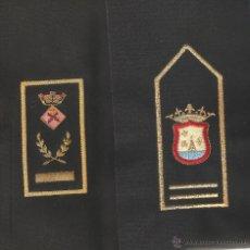 Militaria: 2 PARES DE HOMBRERAS SIN MONTAR BORDADAS DE POLICIA LOCAL DE ALGUN AYUNTAMIENTO. Lote 42645393