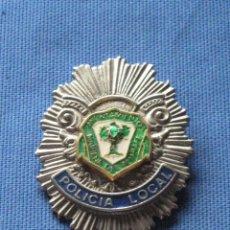 Militaria: PLACA ORIGINAL DE PECHO DE LA POLICIA LOCAL DE MAIRENA DEL ALJARAFE - SEVILLA. Lote 42653434