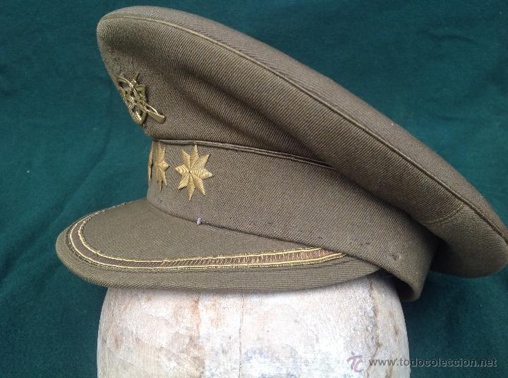 Militaria: Gorra de época monarquía coronel de Infantería - Foto 3 - 42877037